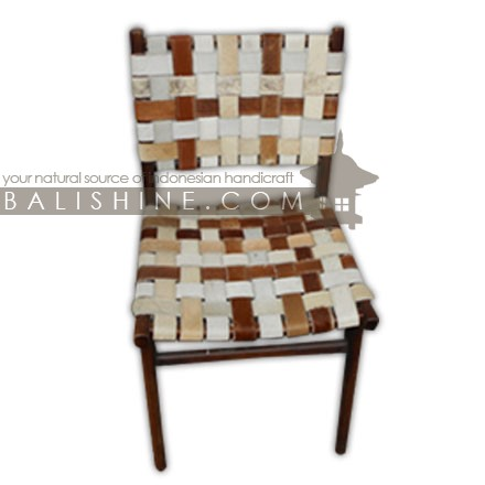 This Woven Leather Chair is a part of the furniture collection, click to learn more about it